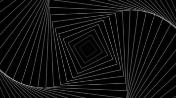 espiral hipnótica visual looping zoom infinito padrão loop video