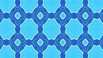 blauer Neonkaleidoskophintergrund video