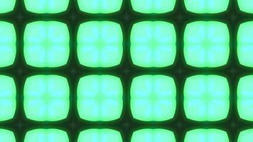 grüner und rosa Neonkaleidoskophintergrund video