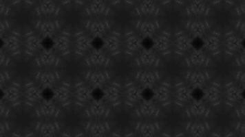 schwarzer Kaleidoskophintergrund video