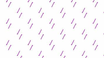 abstract purple line  background seamless loop animation alpha channel video