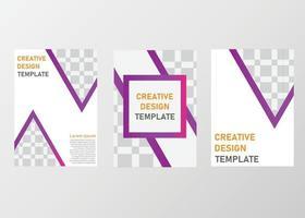plantilla de diseño de presentación de negocios vector