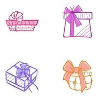 Pack of Present vector