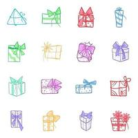 Pack of Surprise Gift vector