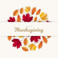 Autumn sale banner design with dried leaves vector