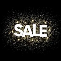 Christmas sale offer banner vector