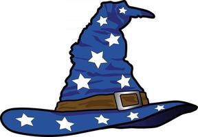 Wizard Hat Piece vector