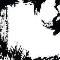 abstract grunge border vector