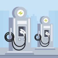 station service pumps ecology transport vector
