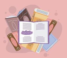 open textbooks encyclopedia vector