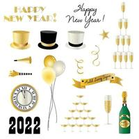 New Years Eve 2022 Vector Graphics