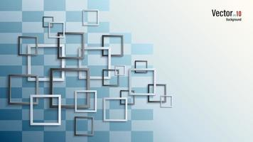 Group picture frames 3d background vector