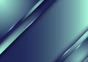 Template design abstract blue gradient stripes overlap layer background with lighting vector