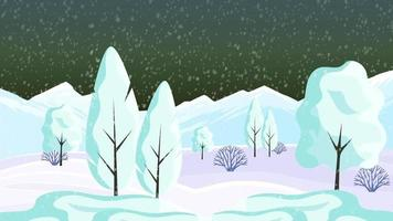 Winter Season In The Snowy Mountains Out Of City video