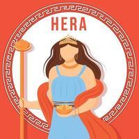 Hera red social media post mockup vector