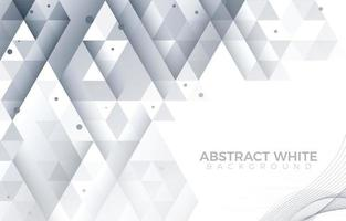 Diamonds Triangle Shades Abstract White Background vector