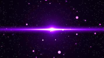 Purple Nova Flare in The Night Sky video