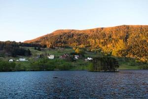 Island village in Norway photo