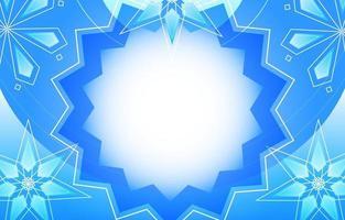 fondo abstracto copos de nieve vector