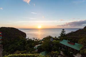 Saint Lucia 2019- Jade Mountain Resort sunset view photo