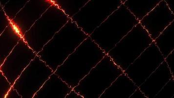 Digital energy electricity lightning grid moving rotating loop video