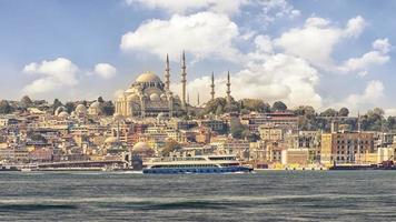 Istanbul city in the daytime photo