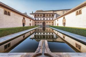 The Alhambra Palace of Granada Spain photo