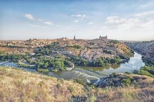 Toledo city in the daytime  Spain photo