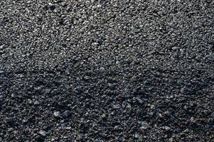Textura de asfalto de asfalto de fondo de carretera de carretera foto