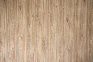 Fondo de textura de pared de tablón de madera marrón rayado foto
