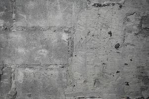 Demolish cracked concrete wall texture photo