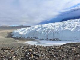 Canadá glaciar taylor dry valley antártida foto