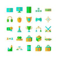 Sport Tournament icon set vector flat for website mobile app presentation social media Suitable for user interface and user experience
