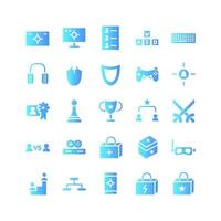 Sport Tournament icon set vector gradient for website mobile app presentation social media Suitable for user interface and user experience