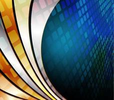 vector abstract background with wave
