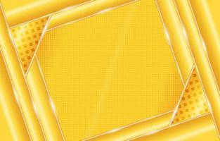 Gradient Geometric Yellow Background vector
