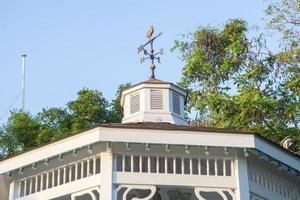 White roof background photo