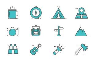 Summer Camp Icon vector