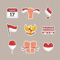 Indonesian Day of Independence on 17th August Celebration vector