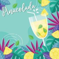 Sweet and Sour Pinacolada vector