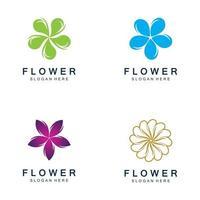 flowers design vector for spa
