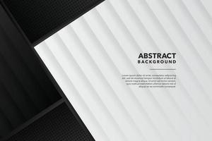 black modern abstract background design vector