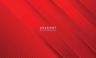 red modern abstract background design vector