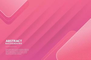 pink modern abstract background design vector