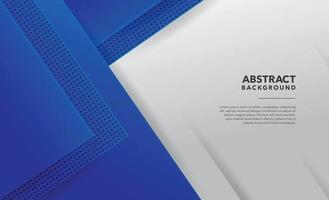 blue modern abstract background design vector