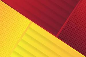 red yellow modern abstract background design vector
