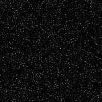 Golden polka dot small confetti on black background vector