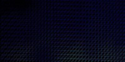 Dark BLUE vector background with lines Gradient abstract design in simple style with sharp lines Pattern for websites landing pages