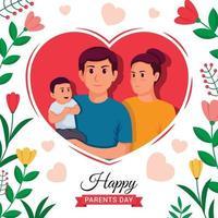 parents day concept vector