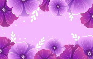 fondo de flor lila vector
